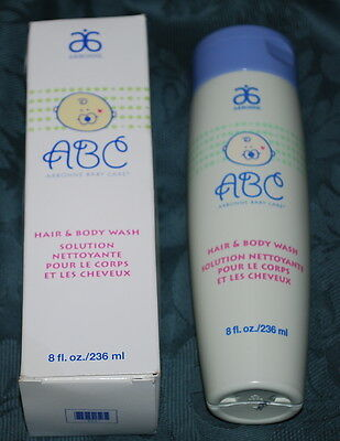 ARBONNE ABC BABY CARE HAIR & BODY WASH 8 oz New Sealed