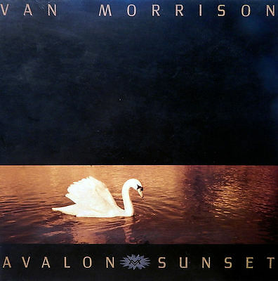 Van Morrison. Avalon Sunset. Brit Presss.  1989. EX/EX-NM