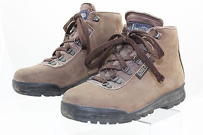 Vasque Gore-Tex women's Brown Leather Hiking Trail Ankle Boots Sz 7 M Made Italy