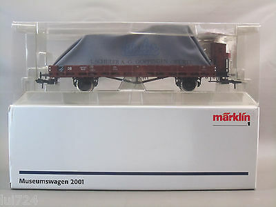 Marklin 1 Gauge 2001 Museum Covered Stake Car --B