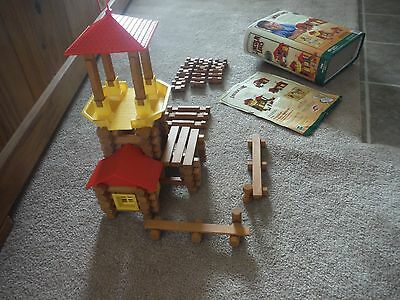 Set of Lincoln Logs, Frontier Junction, GUC