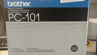 NEW Genuine Brother Fax PC101 Thermal Ribbon Printing Cartridge