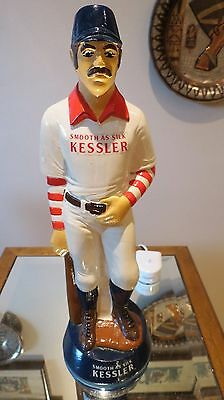 Vintage Kessler Smooth As Silk  Baseball Figure From 1960 Made From Chalk  Rare!