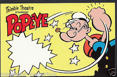 Hobbies Postcard - Comics Classis Collection - Popeye  RS1130