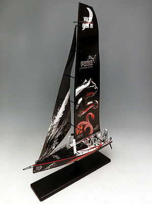 1.87 Motorart Diecast VOLVO Open 70 race Puma-Team-2012 sail boat model-250034