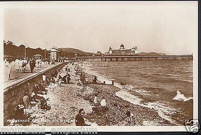 Wales Postcard - Promenade and Pier, Colwyn Bay   RS1071