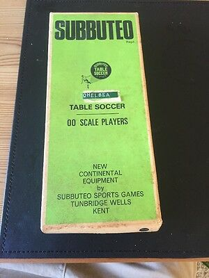 Subbuteo table soccer 00 scale players  continental