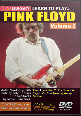 Lick Library LEARN TO PLAY Gilmour's PINK FLOYD Vol. 2 Guitar VIDEO Lessons DVD