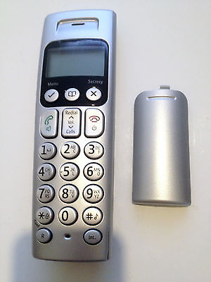 BT Graphite 3500 Digital Cordless Telephone Handset Only (Silver)