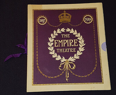 1914 - The Empire - Theatre - London - Program - Original