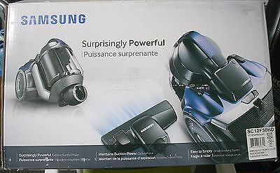 Samsung Vcf500G Cycloneforce Bagless Canister Vacuum Cleaner - Vc12F50Hd