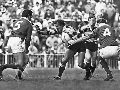 Vintage Rugby Photograph Ltd Ed Print Terry Holmes Llanelli v Cardiff Cup Final