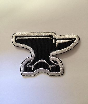 "Anvil Patch 2.5"" Blacksmith Biker Welder"