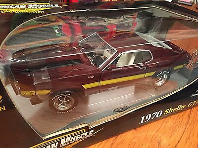Ertl 1/18 1970 Ford Shelby GT 500 1 Of 5000 Item 33806