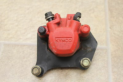 2009 Kymco Super 9 50 Oem Rear Back Brake Caliper Tested And Working W/ Pads