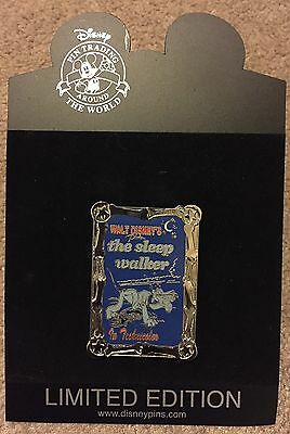 Disney Shopping Movie Poster Pluto The Sleep Walker Bones Frame LE 250 Pin NEW