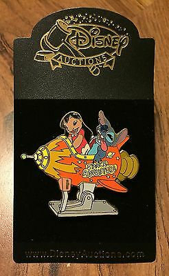 Disney Auctions Lilo and Stitch Rocket Ride Space Adventure LE 500 Pin NEW HTF