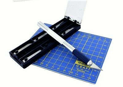 Craft Cutting Set With A6 Cutting Mat   Modelcraft Pkn2008