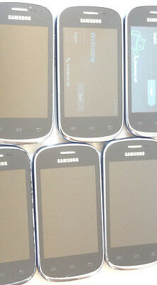 Lot of 13 Samsung Galaxy Discover SCH-R740C Cricket Smartphones Power On AS-IS