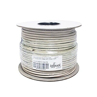 Iggual Cable Bobine RJ45 CAT6 UTP Rigide 100Mts