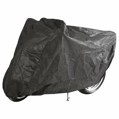 Safetec 135 XL Weather Resistant Motorcycle Cover - Black