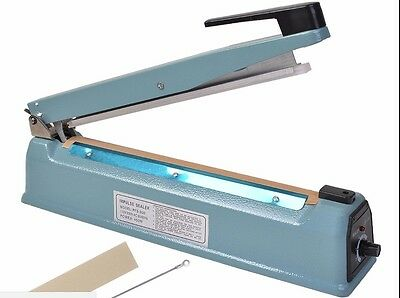 "8''12""16'' Heat Sealing Hand Impulse Sealer Machine Poly Element Plastic Sealer"