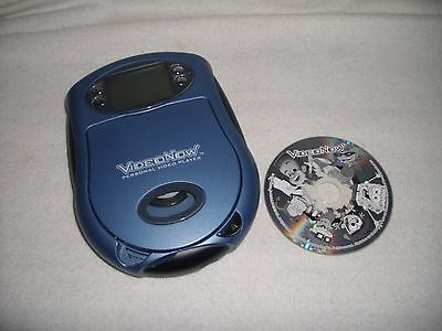 2003 Hasbro Video Now Personal Video Player Light Blue & 1 Video Shown