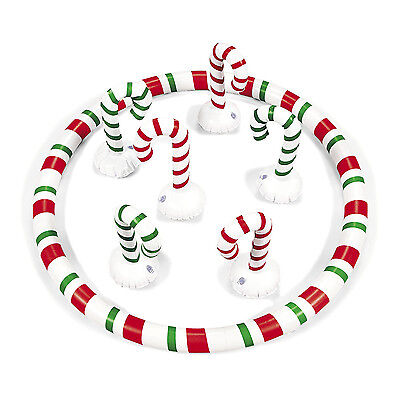 Inflatable CANDY CANE Toss CHRISTMAS CLASSROOM PARTY ACTIVITY KIDS games