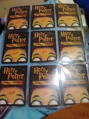 27 MINT HARRY POTTER TRADING CARDS. PLENTY! (sleeves not included) LOOK!