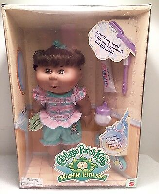 "Mattel 1997 CABBAGE PATCH BABY DOLL ""BRUSHIN' TEETH BABY"" Toothbrush Paste Cup"