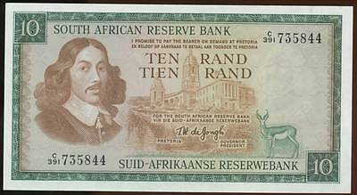 South Africa, Republic, 10 Rand, 1975, P#114c - Uncirculated