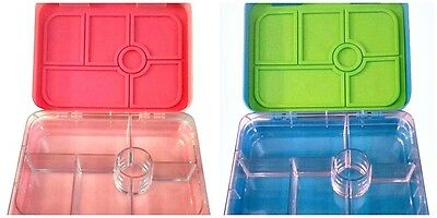 NEW Bentobox Lunch Box Kids Bento Container Thermos Thermal Insulated 6 Section