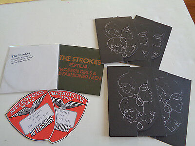 The Strokes Promotional Invite,backstage Pass And Four Cd Set