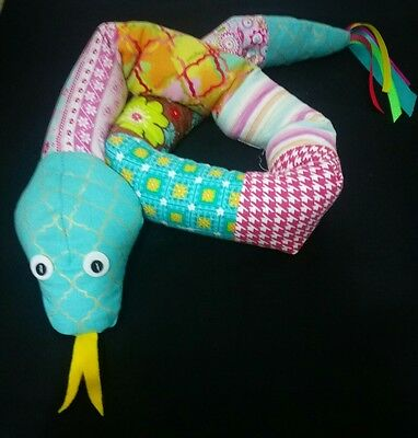 Stella the Weighted Snake. Autism ADD Sensory Weighted toy Weighted blanket