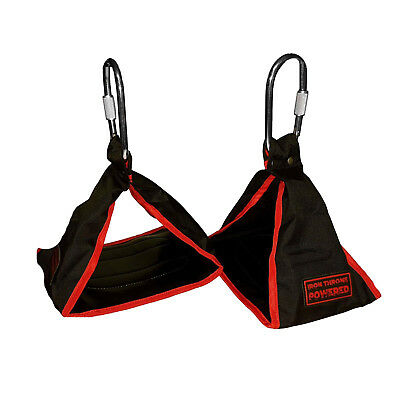 Fitness Ab Sling Hanging Strap Abdominal Muscle Training Suspension Belt Crunch