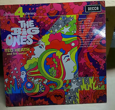Ted Heath and his Music, -  The Big Ones Phase Four Stereo,  LP DECCA