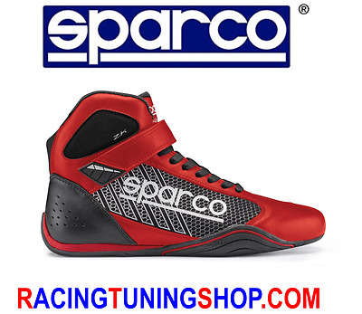 Scarpe Kart Sparco Omega Karting Shoe Schuhe Red Taglia 41 Karting Shoes