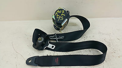 Peugeot 407 Sw 2.0 Hdi 2006 Front Driver Side Seat Belt 9639574Xx