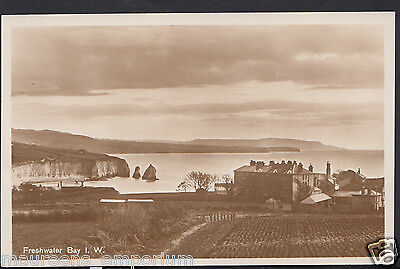 Isle of Wight Postcard - View of Freshwater Bay   RS1043