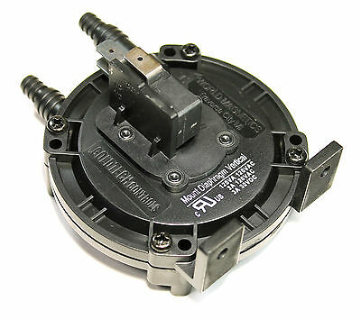 Dwyer Goldtech Gauge PS100-A1310 .25mbar Differential Vacuum / Pressure Switch