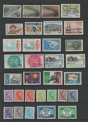 Uruguay Lovely Unmounted Mint Stamp Collection.3 Scans.