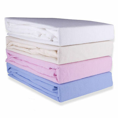 100% Brushed Cotton Luxury Flannelette Sheets Sets Single, Double & King
