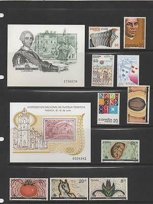 Spain Stamps.Small Unmounted Mint Collection.