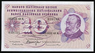 Switzerland, Confederation, 10 Francs, 1970, P#45p - Uncirculated