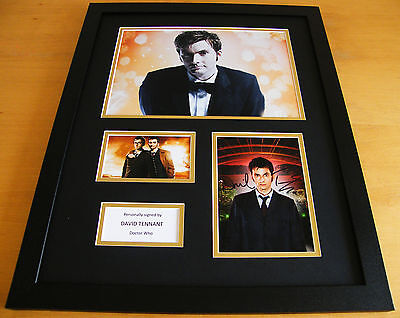 DAVID TENNANT SIGNED & FRAMED AUTOGRAPH 20x16 HUGE PHOTO DISPLAY DOCTOR WHO COA