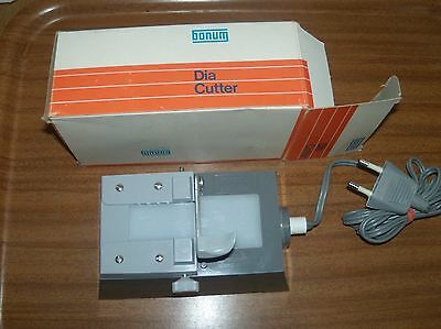Vintage Bonum Dia Cutter Film/slide Trimmer