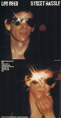 "Lou Reed ""Street hassle"" Von 1978! Acht Songs! Mit ""Leave me alone""! Neue CD!"