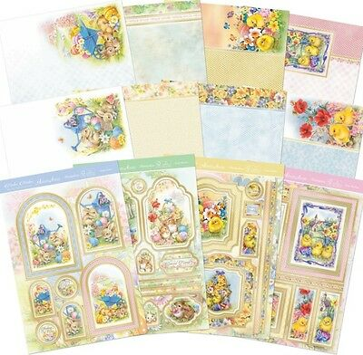 HUNKYDORY Deluxe Card Collection ~ EASTER WISHES (12 Sheets)