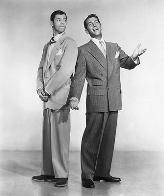 Dean Martin and Jerry Lewis UNSIGNED photo - H4523 - American comedy duo