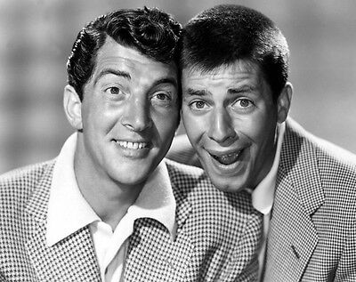 Dean Martin and Jerry Lewis UNSIGNED photo - H4532 - American comedy duo